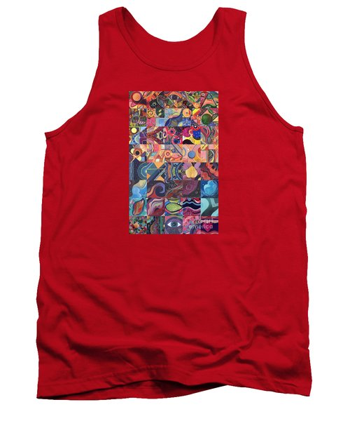 The Joy Of Design First 40 Variation 1 Tank Top