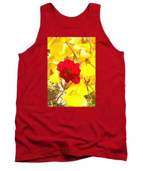 The Last Rose Of Autumn Tank Top by Anastasia Savage Ealy