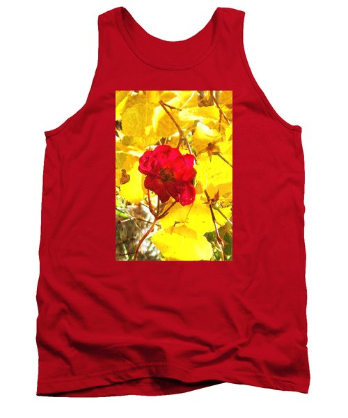 The Last Rose Of Autumn II Tank Top by Anastasia Savage Ealy