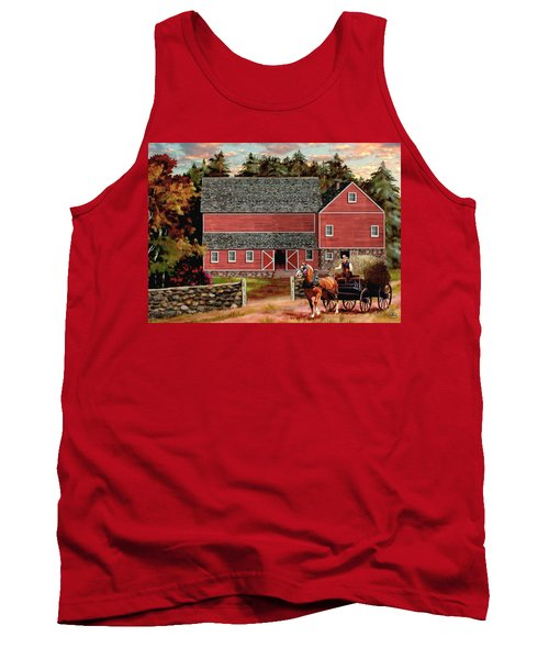 The Last Wagon Tank Top by Ron Chambers