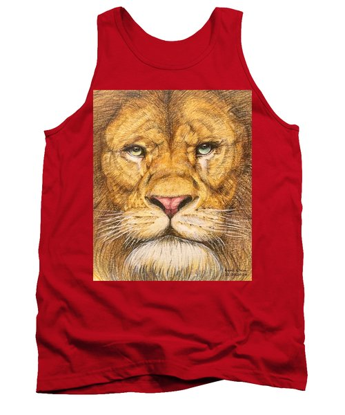 The Lion Roar Of Freedom Tank Top by Kent Chua