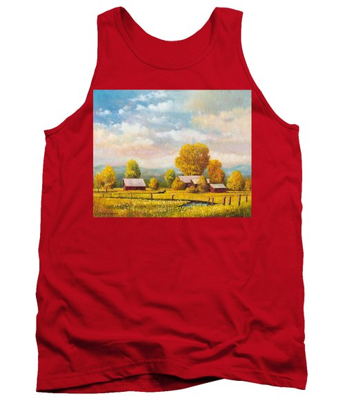 The Lonely Horse Tank Top