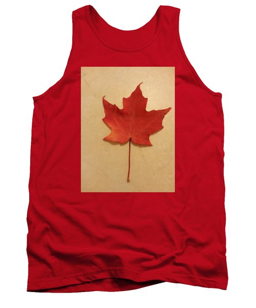The Maple Leaf Forever Tank Top