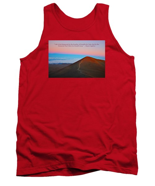 The Moments That Take Our Breath Away Tank Top by Venetia Featherstone-Witty