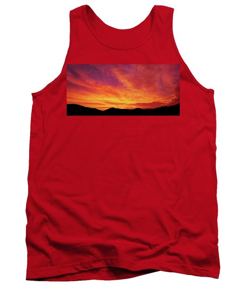 The Morning Sky Ablaze Tank Top