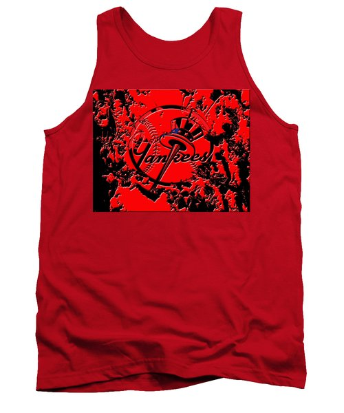 The New York Yankees B1 Tank Top by Brian Reaves