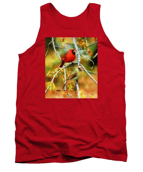 The Newlyweds Tank Top by Tina  LeCour