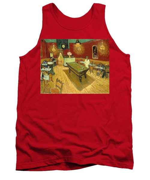 The Night Cafe Auto Contrasted Tank Top
