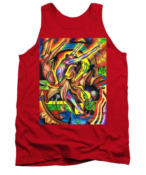 The Numinous Spectrum Of Exaltation Tank Top