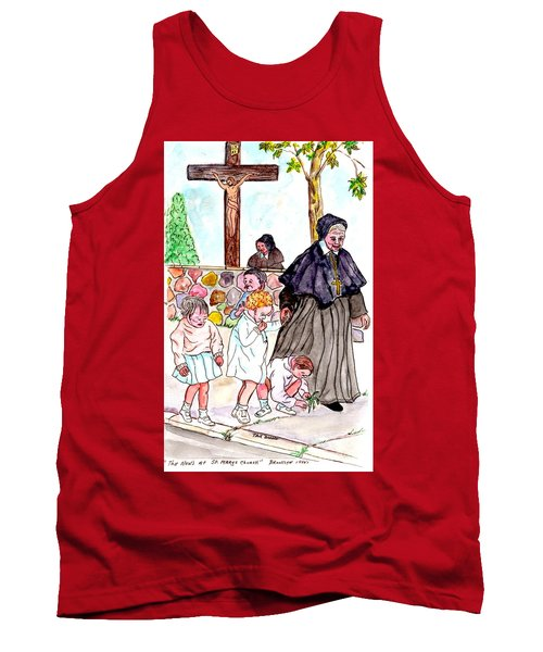The Nuns Of St Marys Tank Top by Philip Bracco