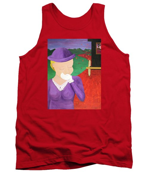 The One That Got Away Tank Top by Thomas Blood