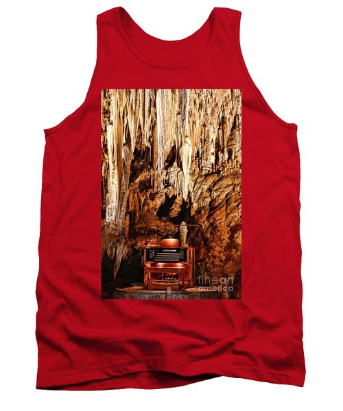 The Organ In The Cavern Tank Top by Paul Ward