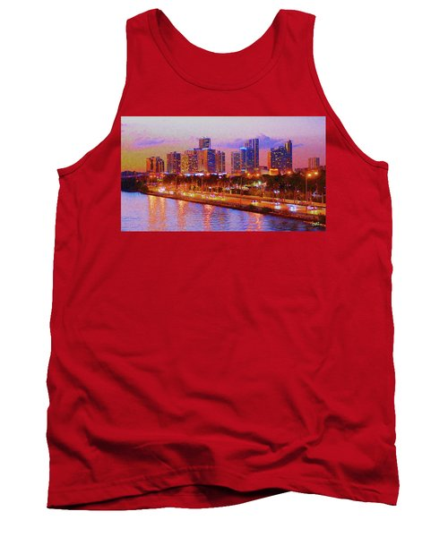 The Outer Drive Tank Top