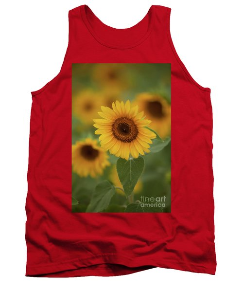 The Patch Of Sunflowers Tank Top