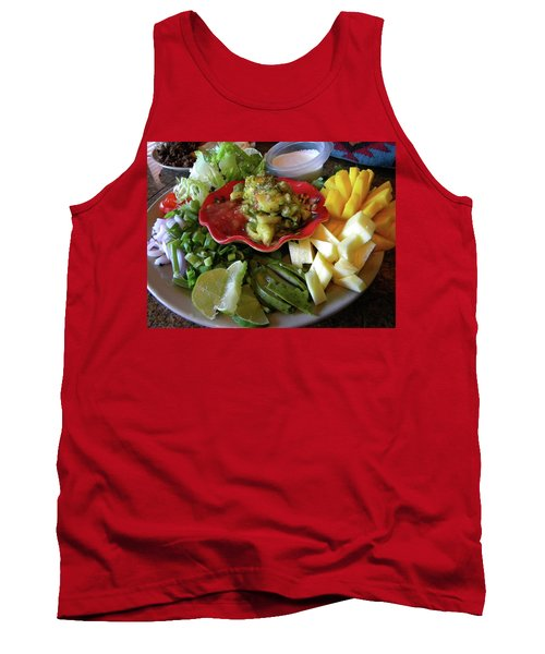 The Perfect Taco  Tank Top by Sian Lindemann