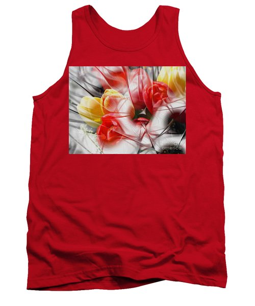 The Picture Behind The Fractal -16- Tank Top