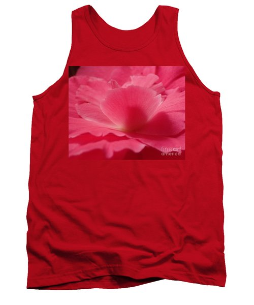 The Power Of Pink Tank Top by Christina Verdgeline