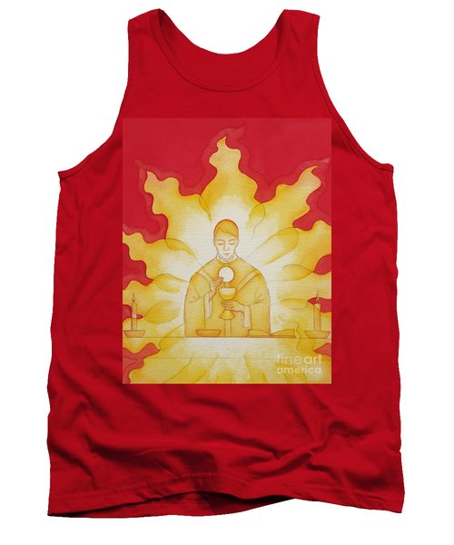 The Presence Of Jesus Christ In The Holy Eucharist Tank Top
