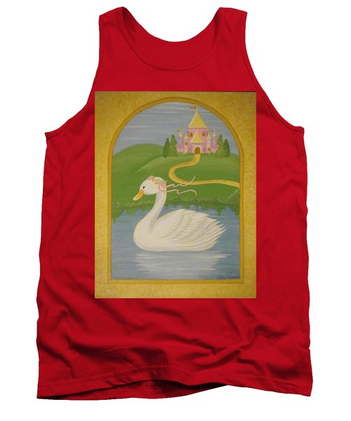 The Princess Swan Tank Top