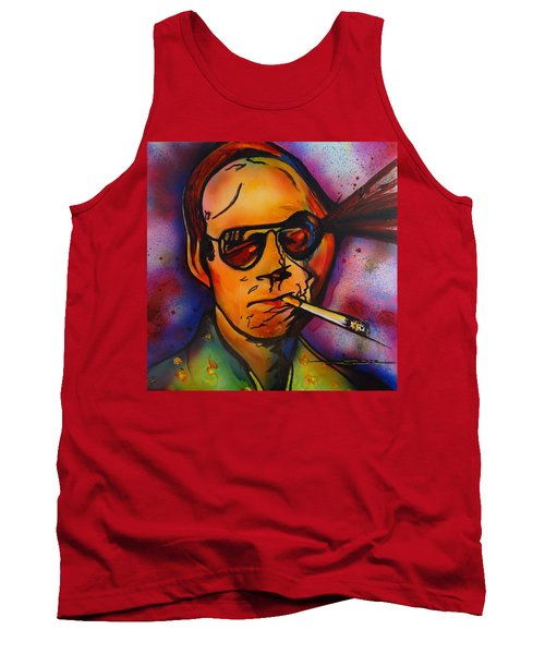 The Psycho-delic Suicide Of The Tambourine Man Tank Top