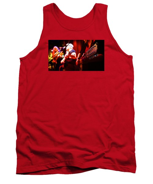 Tank Top featuring the photograph The Radiant Musicians by Cameron Wood