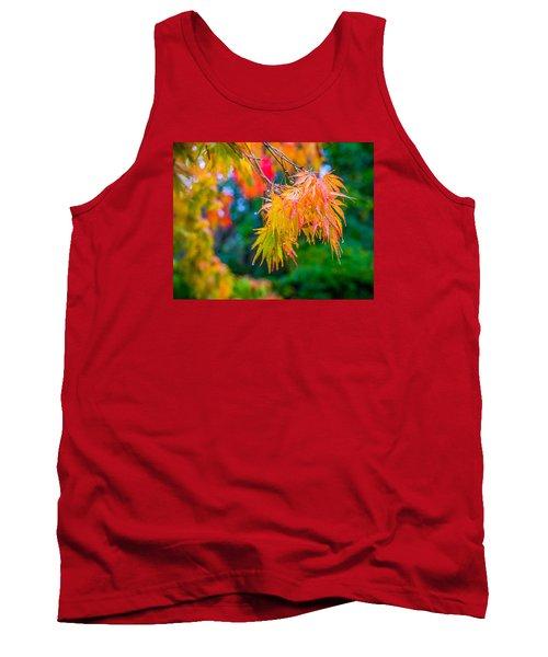 The Rainy Bunch Tank Top by Ken Stanback