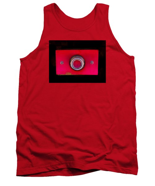 The Red Button Tank Top
