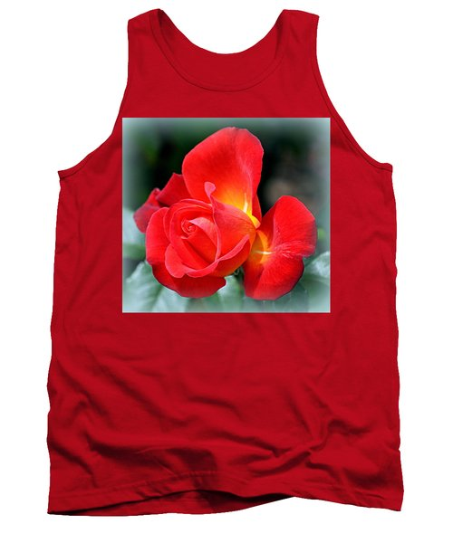 The Red Rose Tank Top