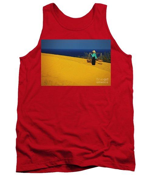 The Red San Dunes Of Mui Ne Vietnam Tank Top