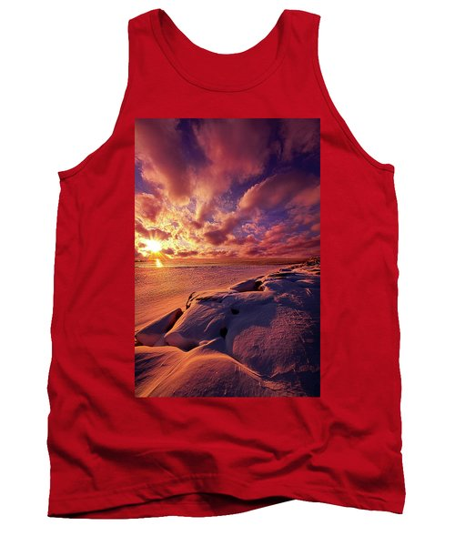 Tank Top featuring the photograph The Return by Phil Koch