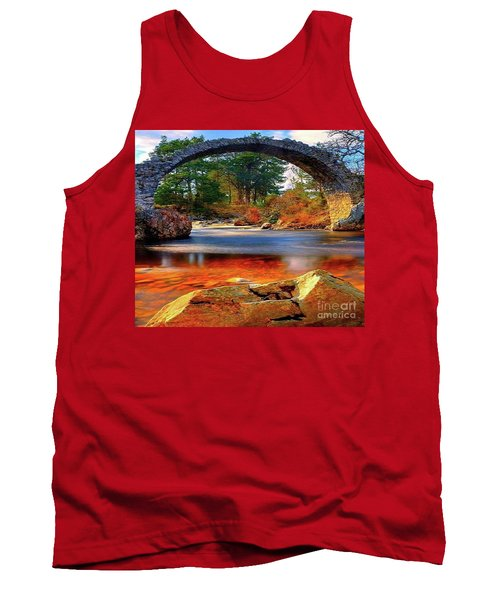 The Rock Bridge Tank Top by Rod Jellison