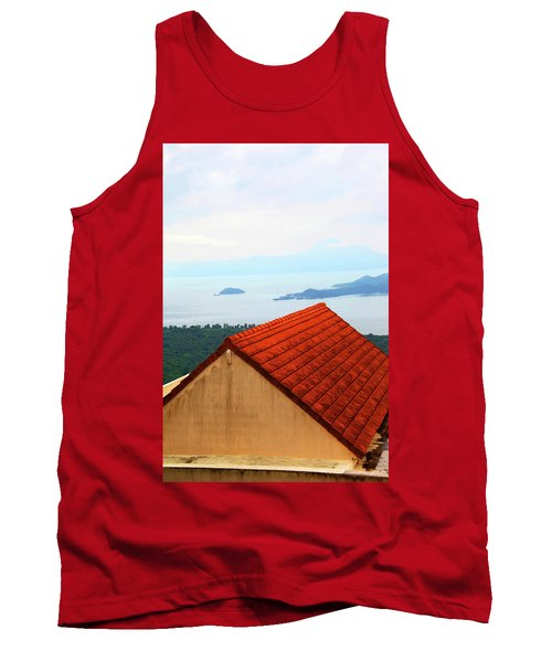 The Roof Be Told Tank Top by Jez C Self