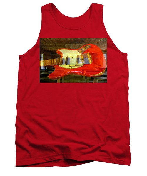 Tank Top featuring the photograph The School Of Rock by David Lee Thompson