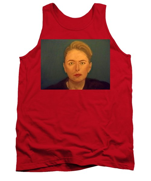 The Serious Lady Tank Top
