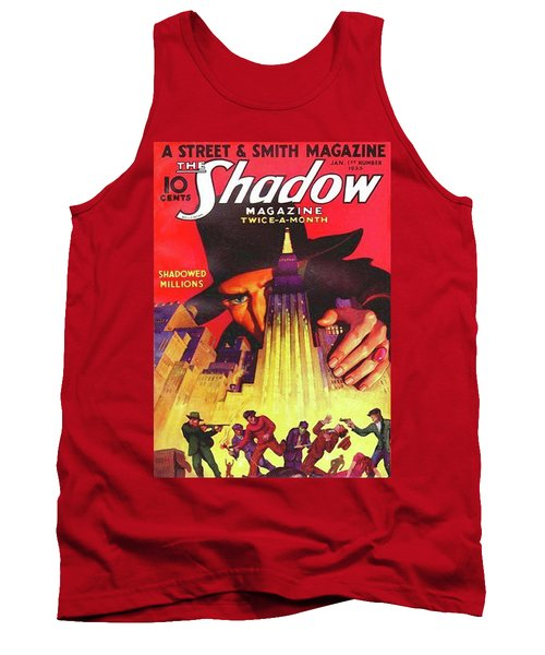 The Shadow Shadowed Millions Tank Top