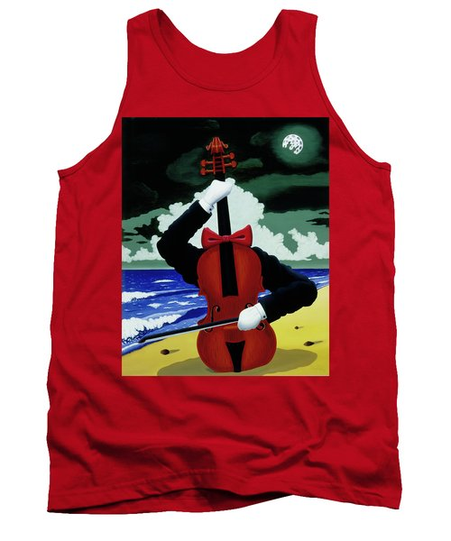 The Silent Soloist Tank Top