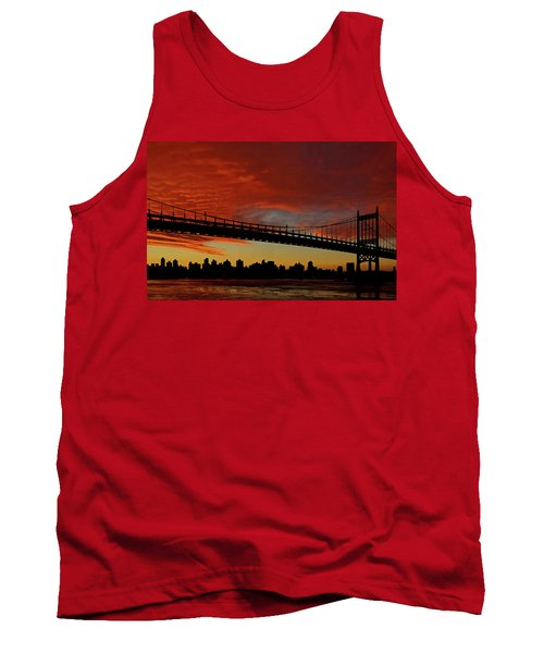 The Sky Is Burning Tank Top