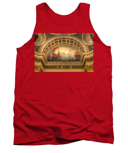 Tank Top featuring the photograph The Spirit Of Religious Liberty by Shelley Neff