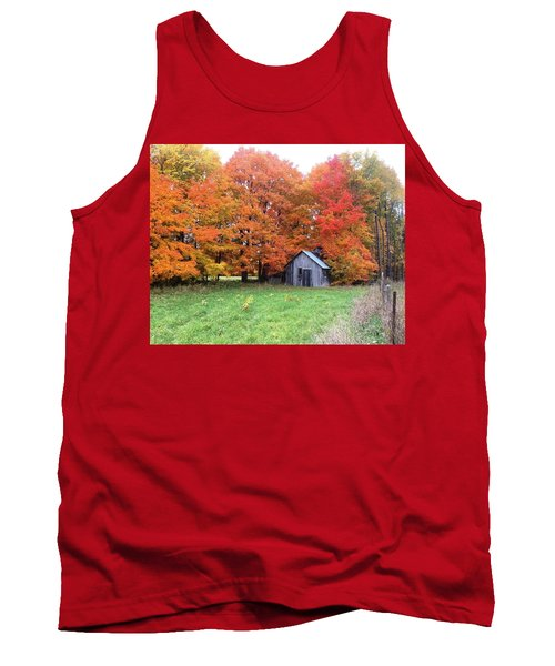 Tank Top featuring the photograph The Sugar Shack by Pat Purdy