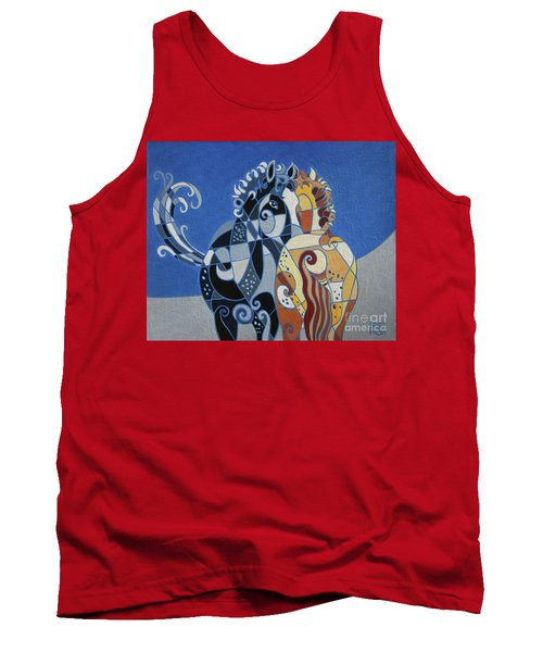 The Tao Of Friendship Tank Top