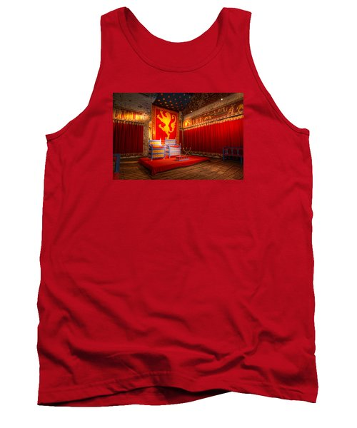 The Throne Room Of Dover Castle Tank Top