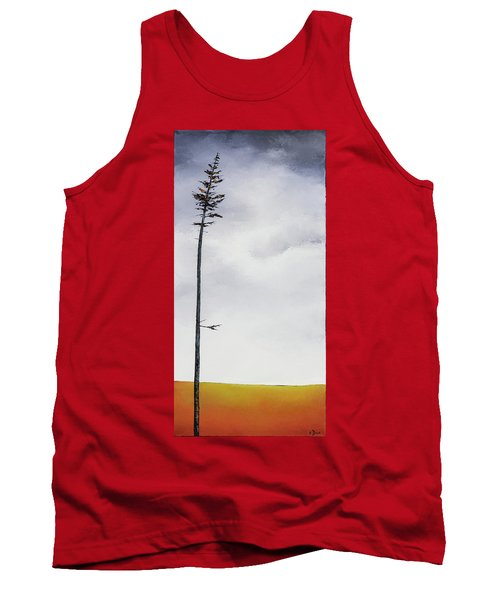 The Trees Are So Tall Here  II     Tank Top by Carolyn Doe