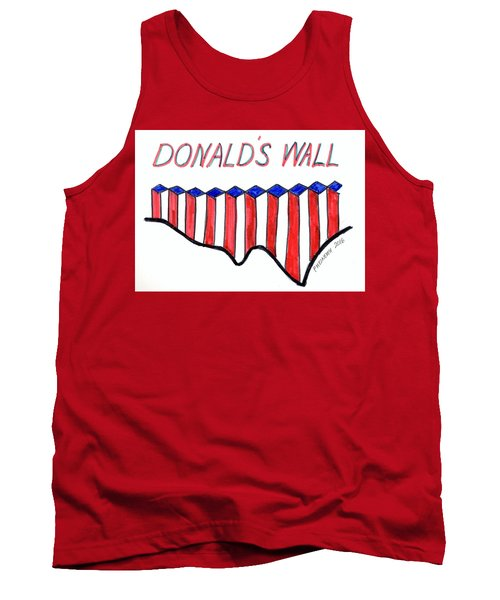 The Trump Tank Top by Paul Meinerth