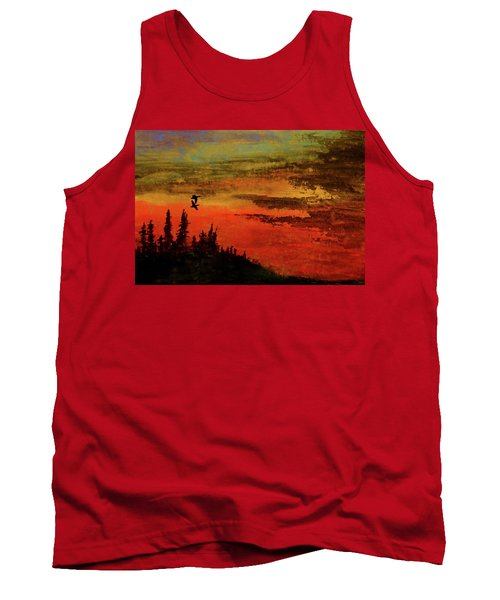 The Two Of Us Tank Top by R Kyllo