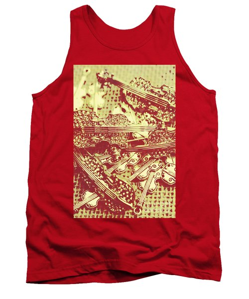 The Violinist Playwright Tank Top
