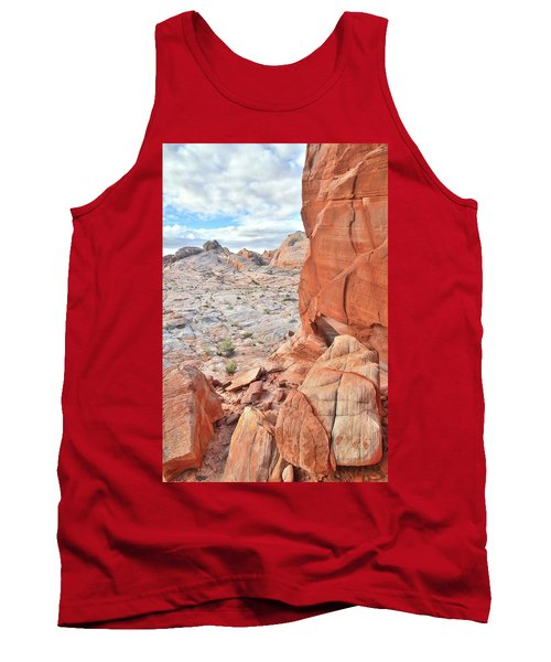 The Wall At Valley Of Fire Tank Top by Ray Mathis