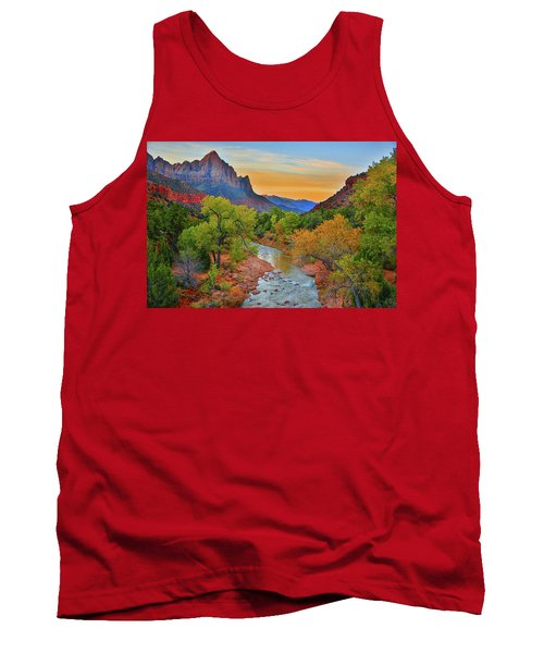 The Watchman And The Virgin River Tank Top
