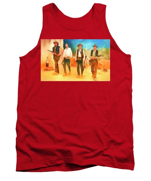 The Wild Bunch Tank Top by Michael Cleere