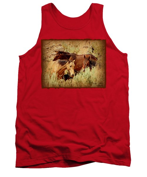 The Wild Horse Threesome Tank Top