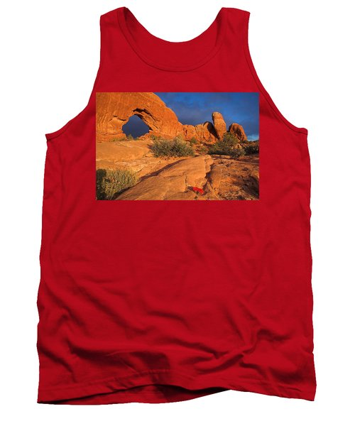 Tank Top featuring the photograph The Window by Steve Stuller